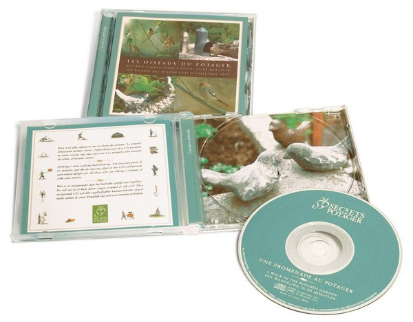 "Esschert Design CD ""Vogels in de moestuin"" (E2652 - 8714982046643) 
