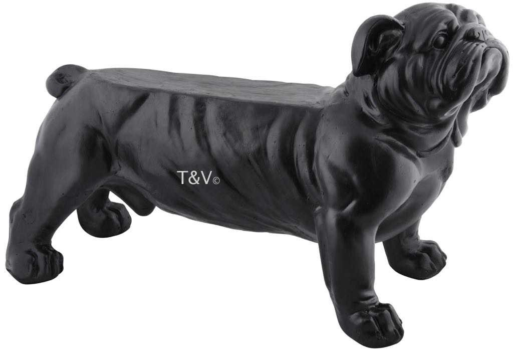 Esschert Design Bank bull dog (AV14 - 8714982141713) | Trends & Vision