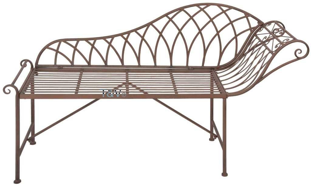 Esschert Design Chaise longue metaal (MF016 - 8714982115653) | Trends & Vision