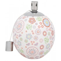 Esschert Design Olielamp Russian Flowers print | Trends & Vision