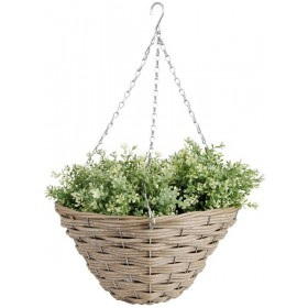 Artificial hanging basket groot