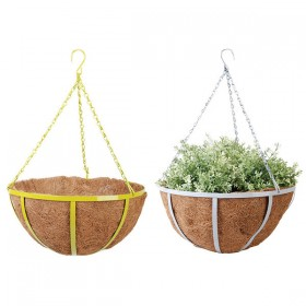 Hanging basket 35 cm assorti